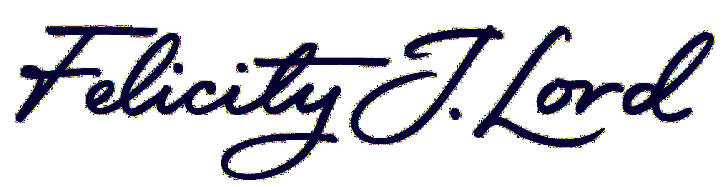 Felicity J Lord logo